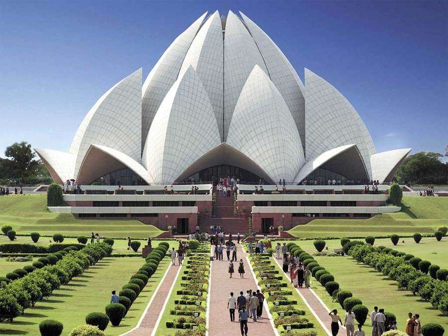 Lotus Temple - Luxury Car Rental In Delhi