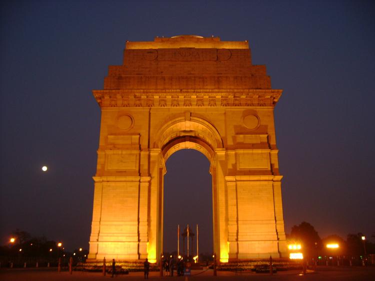 India Gate - Car Hire in Delhi