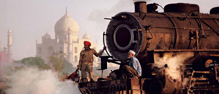 Taj Mahal trip by Train
